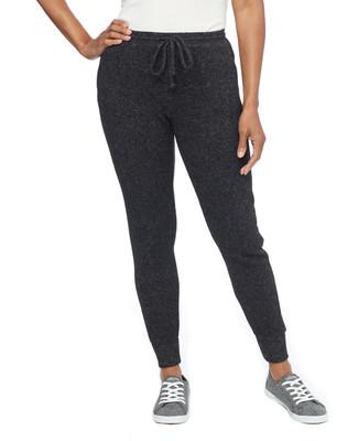 Soft Black Jogger Pant