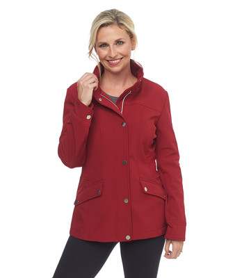 Red High Collar Jacket