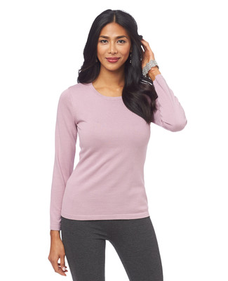 Lightweight Cotton Crewneck Sweater