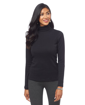 NEW - Solid Turtleneck Tee