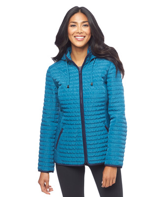Hooded Quilt Jacket