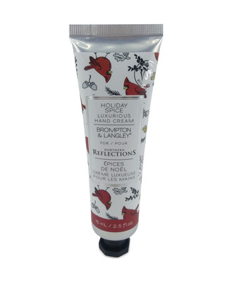 Holiday spice scented hand cream