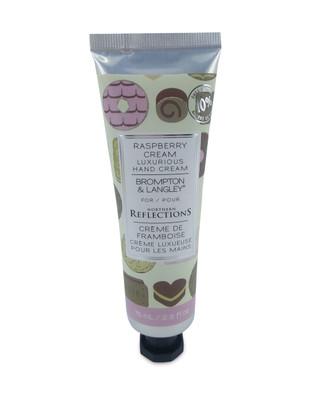 Raspberry scented hand cream