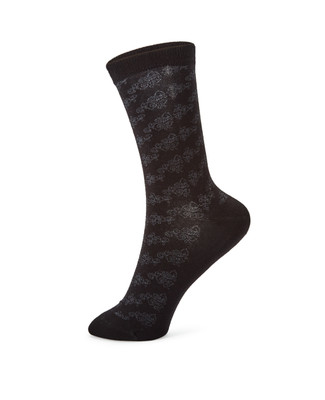 Ladies floral cotton socks