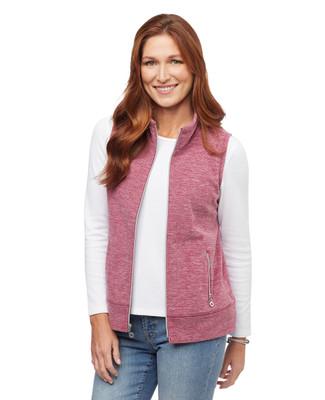 Woman's polar fleece winter vest