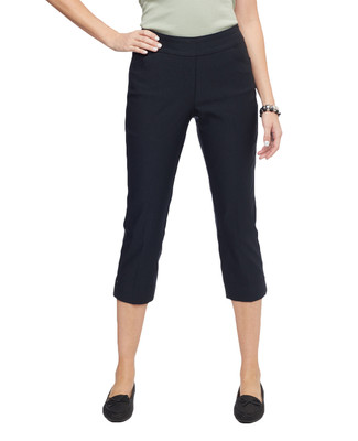 Women's cropped capri pull on pants