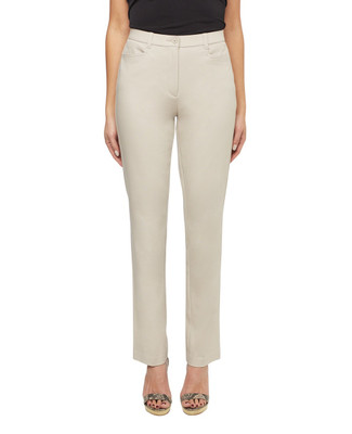 Women's essential slim bi-stretch dress pants