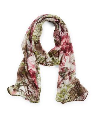 Women's green spring fashion scarf