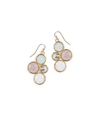 Women's lilac dangle drop earrings