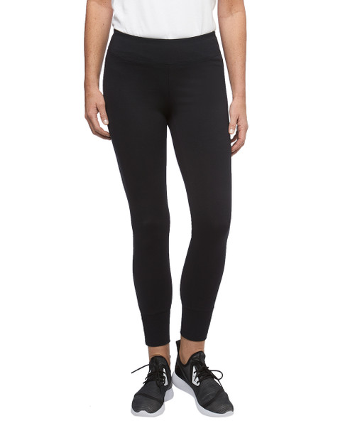 Women's lattice cuff activewear legging