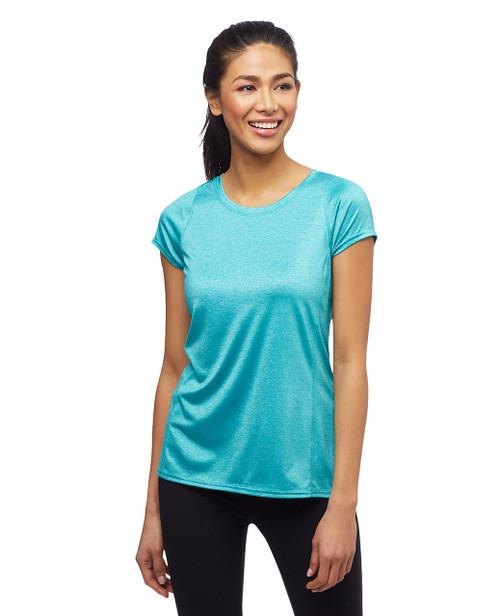 Women's high low sleek activewear shirt