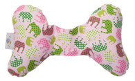 Pink Elephant Head Support Pillow
