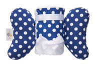 Blue Dot Infant Head Support