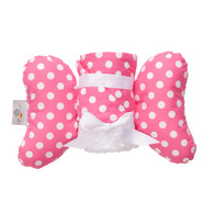 Pink Dot Infant Head Support