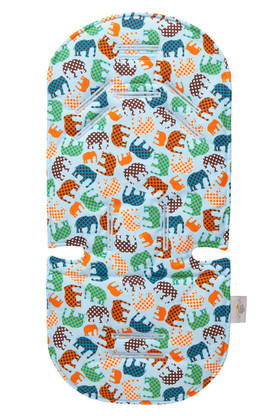Blue Elephant Stroller Liner Stroller Accessories