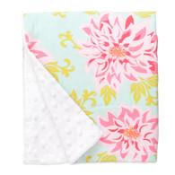 "Dahlia Large Baby Blanket (27"" x 29"")"