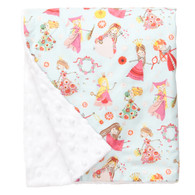 "Fair Maiden Large Baby Blanket (27"" x 29"")"