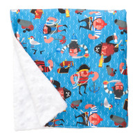 """Baby Red Beard Large Baby Blanket (27"""" x 29"""")"""