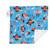 "Baby Red Beard Mini Baby Blanket (12"" x 12"")"