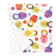 "Little Kukla Large Baby Blanket (27"" x 29"")"