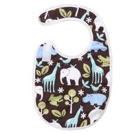 Blue Zoology Bib Baby Elephant Ears