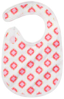 Glitzy Diamond Bib Baby Elephant Ears
