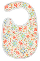 Cross Stitch Bib Baby Elephant Ears