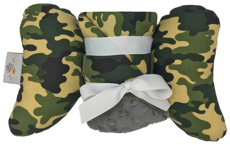 Camo Gift set with Baby Elephant Ears and Large Blanket