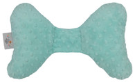 Aqua Minky Infant Head Support Pillow
