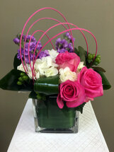 Pink Roses, Hydrangeas, Hypericum Berries, Stock, and fun loops!