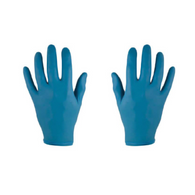 Blue Disposable Gloves - Powder or Powder-Free