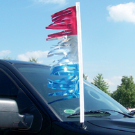 Metallic Antenna Streamers