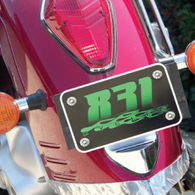 Sample Motorcycle Plate Inserts