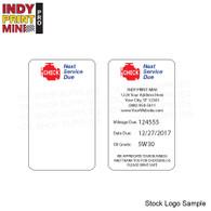 Indy Print Mini - Stock Logo - A3 - Check Engine NSD