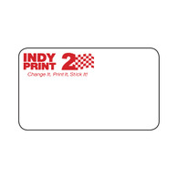 INDY Print 2 - Custom One Color Logo - Red