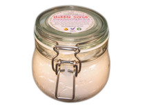 Creamy, foaming and gently exfoliating Bubble Scrub.