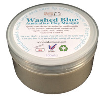 Washed Blue Clay Masque