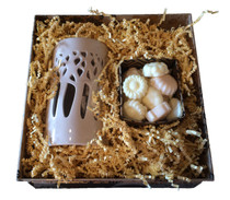 Square Gift Box 11 Ceramic Burner and Melters