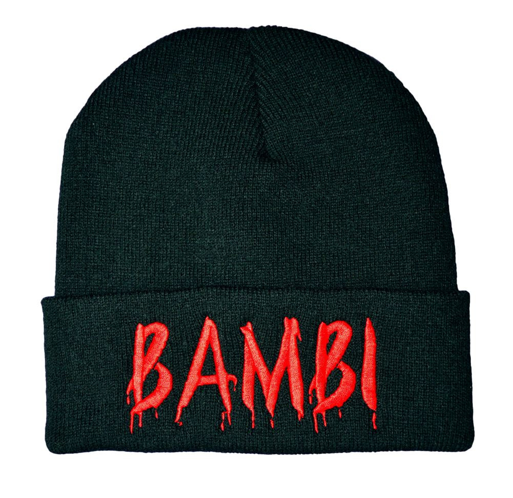 Twisted Apparel alternative bambi beanie hat