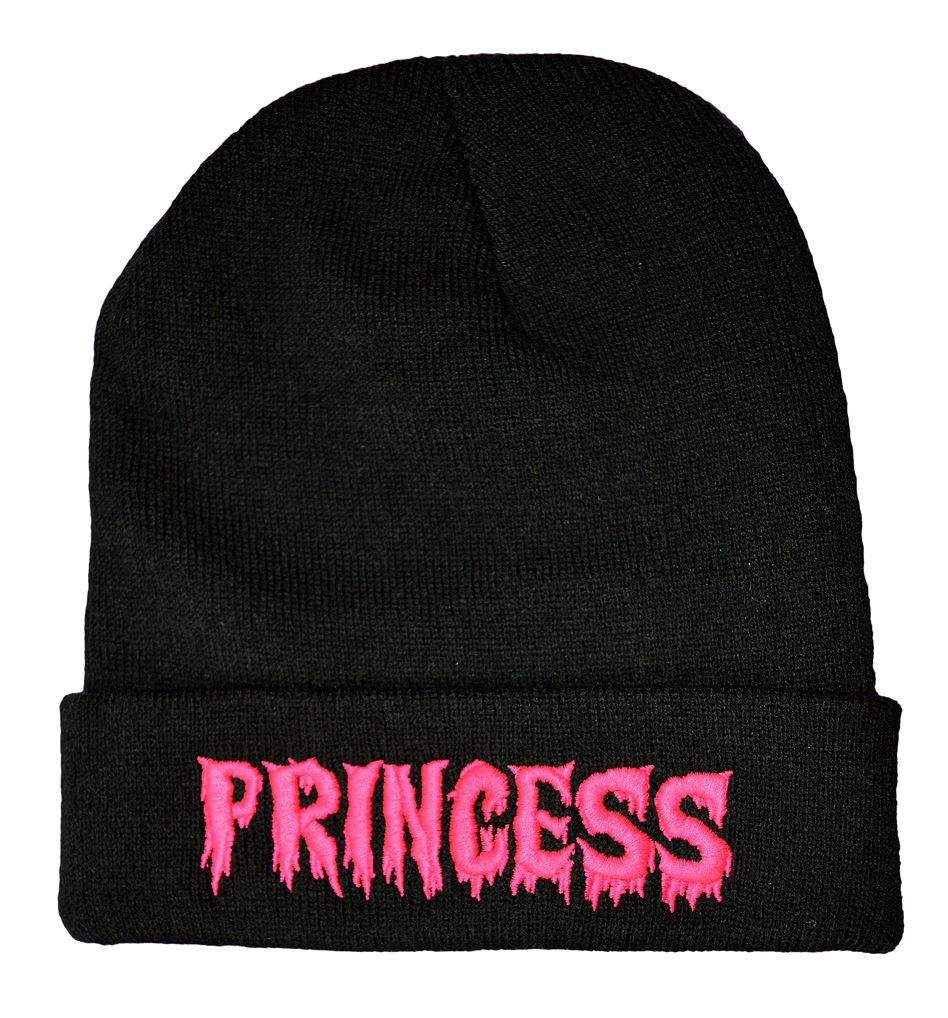 Twisted apparel horror princess beanie hat