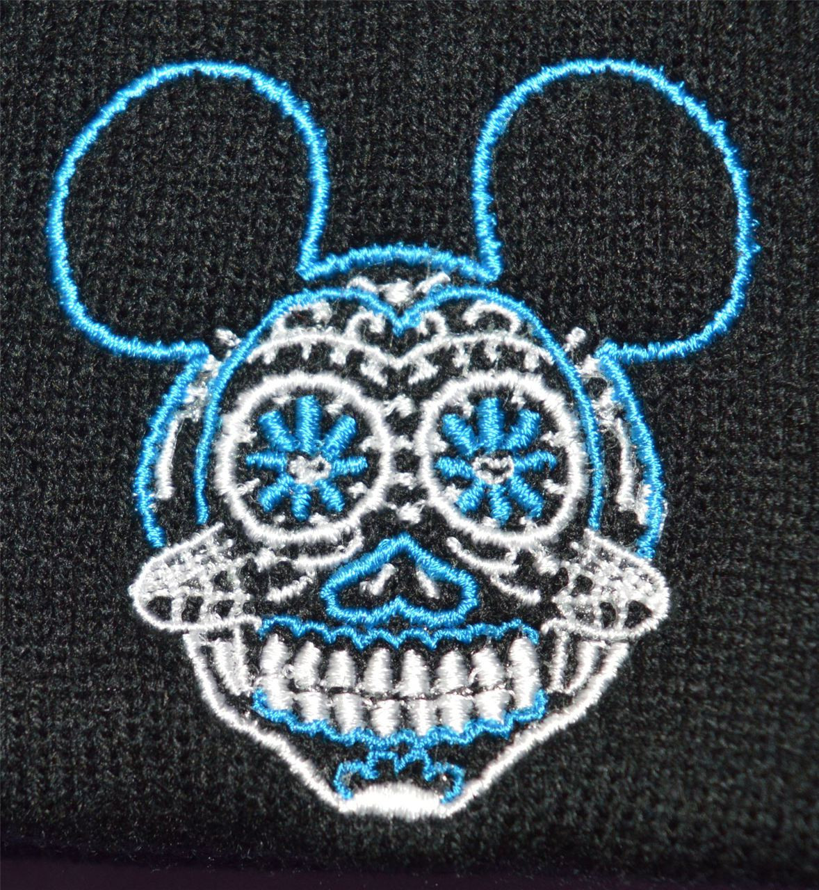 day of the dead sugar skull mickey hat