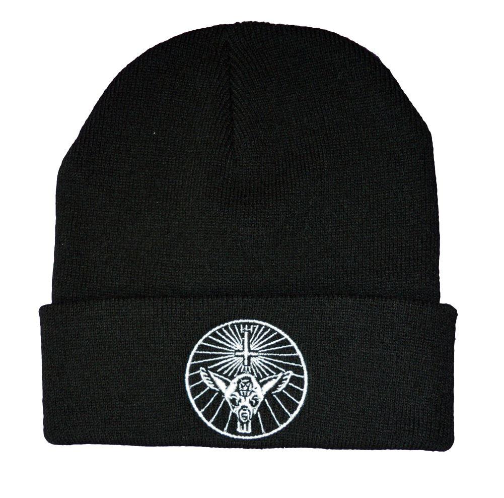 Twisted Yahgrr occult bambi satanic beanie hat