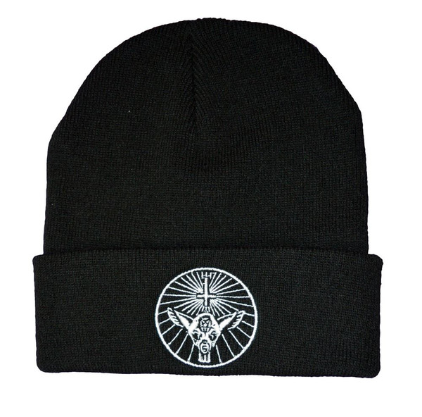 Twisted Yahgrr occult bambi satanic beanie hat