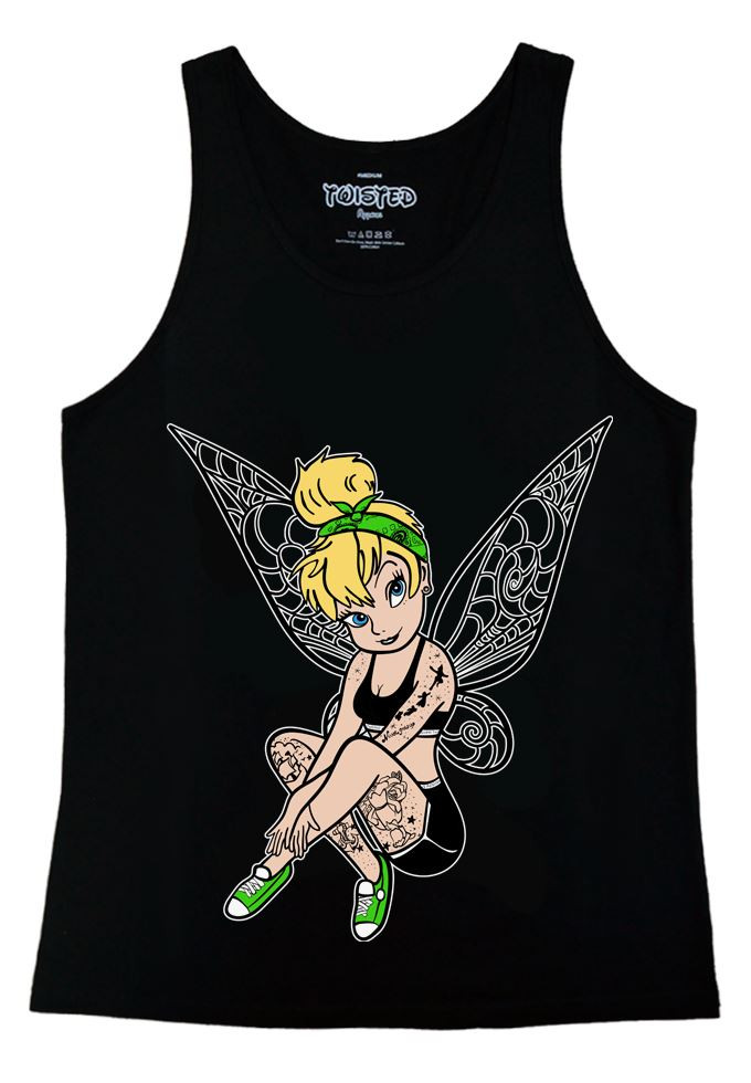 Inkerbelle Tattoo Ladies Vest Top