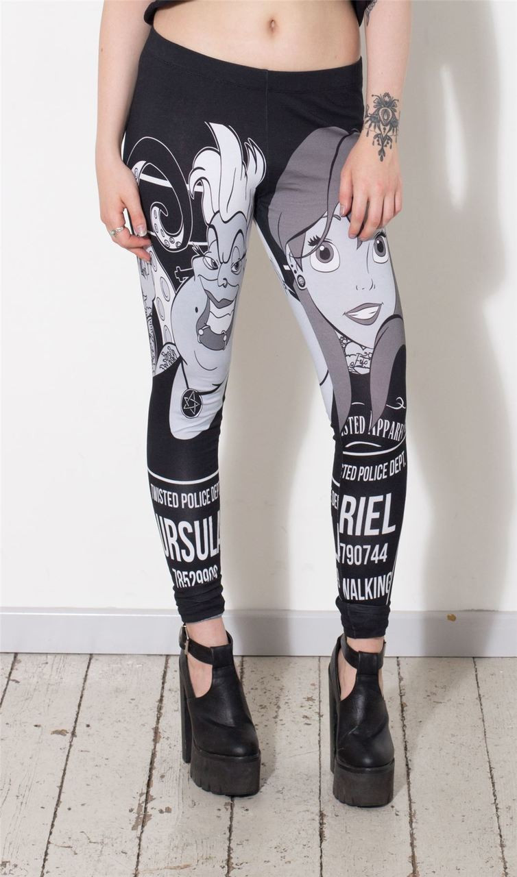 Ariel Mugshot Tattoo Leggings