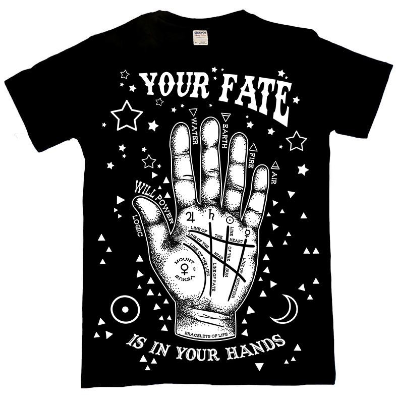 Your Fate Occult Palmistry T Shirt