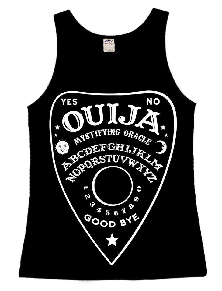 Ouija Planchette Vest