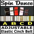 Cinch Belts Adjustable