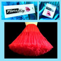 Flirtn Betty 55cm long Petticoat Red