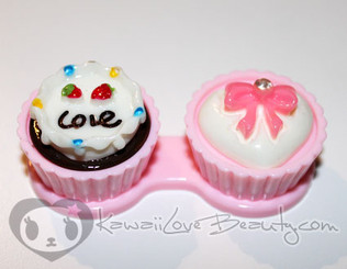 Sweet Lens Case - Pink Love Cake
